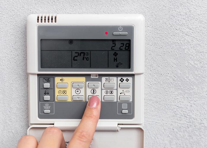 Энергопотребление кондиционера <br>в зависимости от температуры
